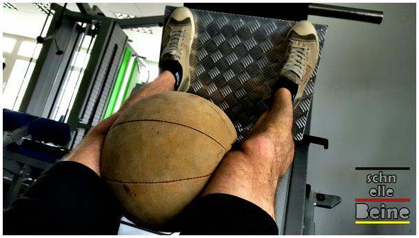 Beinpresse Ball